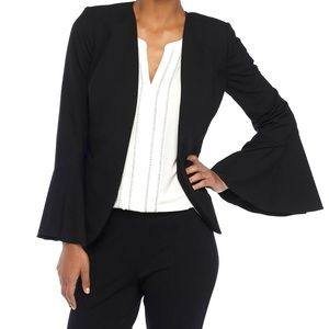 The Limited Bell Sleeve Open Front Blazer 6